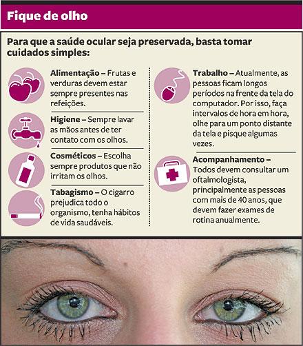 Fique de olho! Dicas para a boa saúde ocular df186102ac