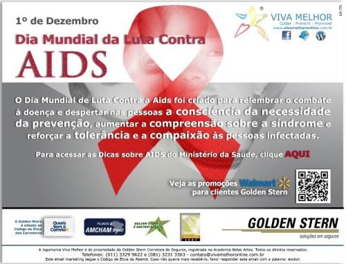 Dicas sobre AIDS do Ministério da Saúde