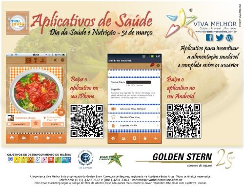 Aplicativos de saúde 2013 - Prato Saudável