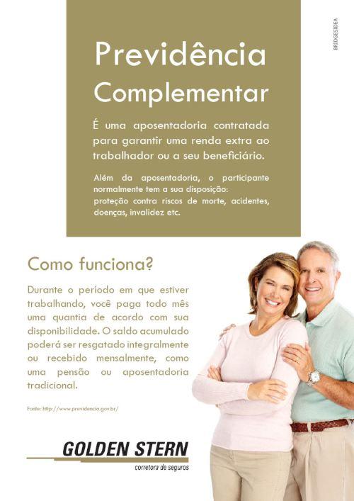 Cartaz A3 Previdência Complementar